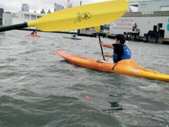 Kayaking in New York - Hudson River