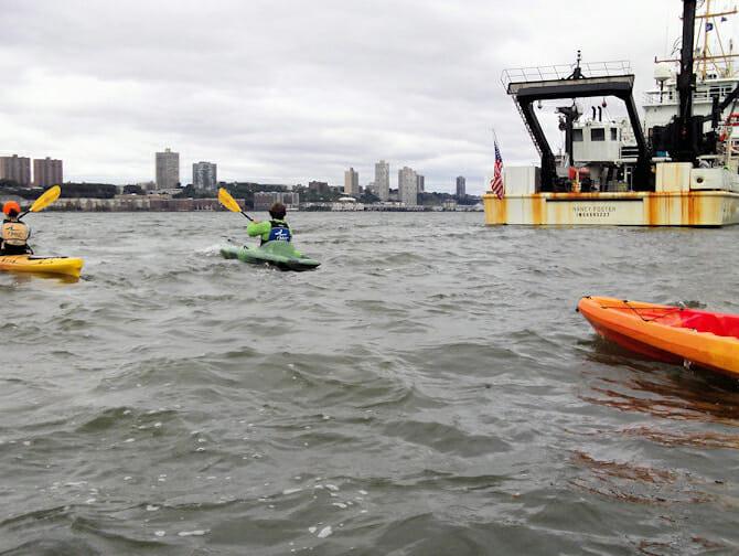 Kayaking in New York - Kayaks