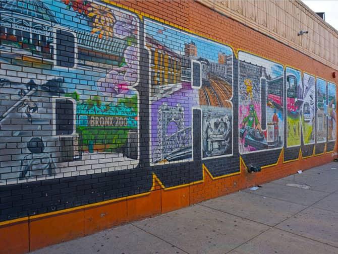 Brooklyn, Queens and The Bronx Tour - Bronx Street Art