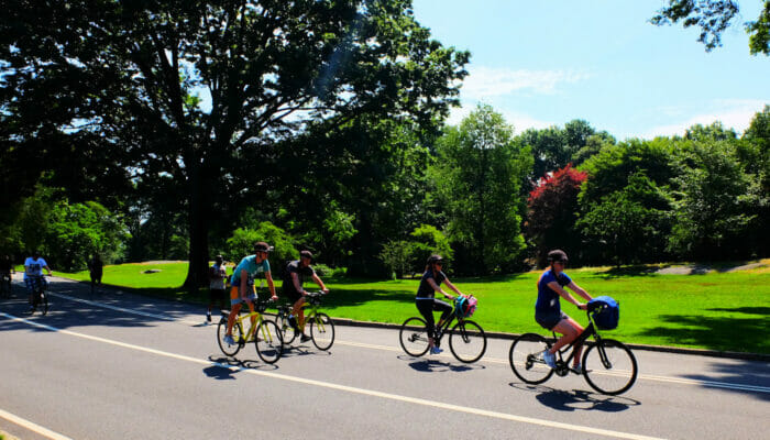 Cycling in New York