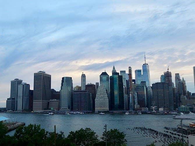 New York Night Tour - Skyline from Brooklyn