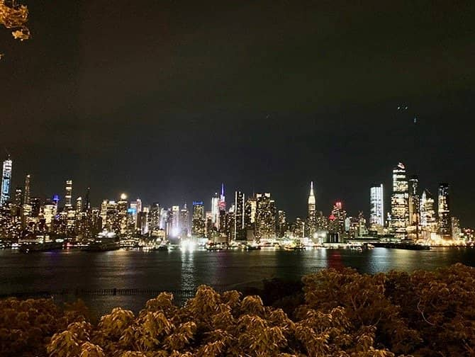 New York Night Tour - Skyline from New Jersey