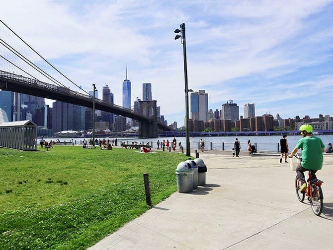Renting a bike in New York - Cycling in Brooklyn