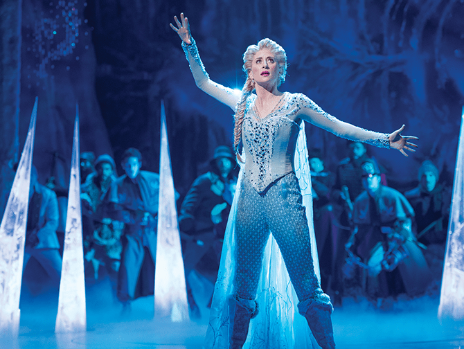 Frozen on Broadway Tickets - Elsa