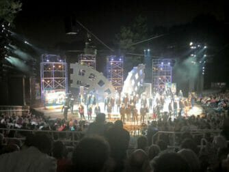 Shakespeare in the Park in New York - End of the Show