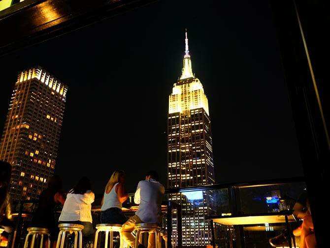 Rooftop Bar Tour in New York