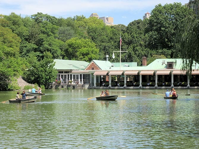 Rowing Boat Rental in Central Park - The Loeb Boathouse