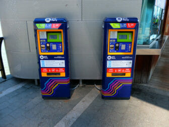 NYC Ferry in New York - Ticket Machines