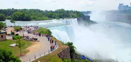 Niagara Falls by plane