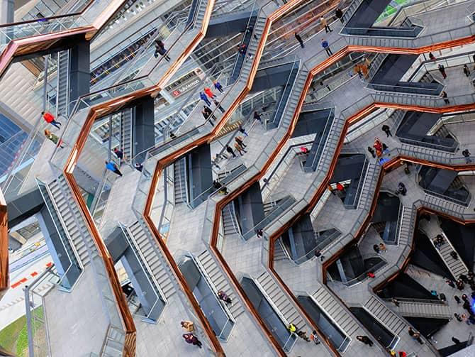 Hudson Yards Vessel in New York - Vessel structure