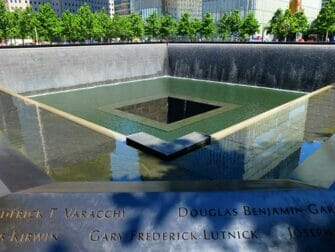 Difference between New York Sightseeing Day Pass and New York Pass - 9:11 Memorial