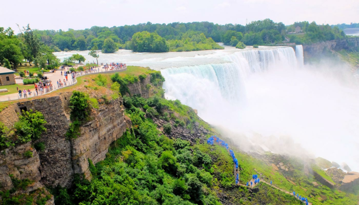 New York to Niagara Falls by Bus Day Trip - View from Observation Point