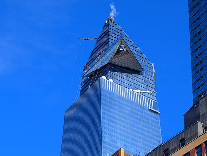 Hudson Yards in New York - Edge Observation Deck