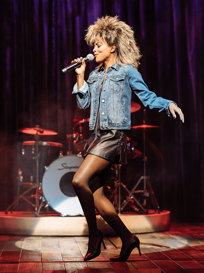 The Tina Turner Musical on Broadway Tickets - Iconic Look