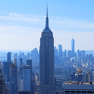 Top 10 in New York - Empire State Building