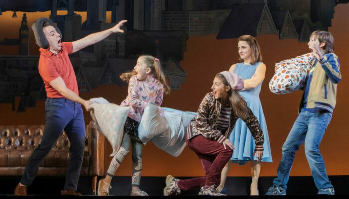 Mrs Doubtfire on Broadway Tickets Pillow Fight