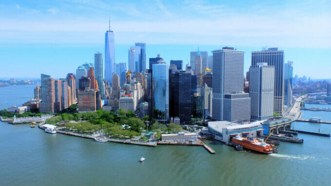 New York Skyline – Zoom