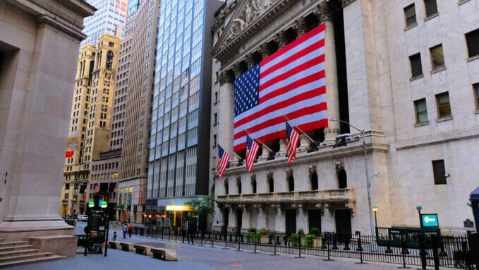 New York Stock Exchange – Zoom