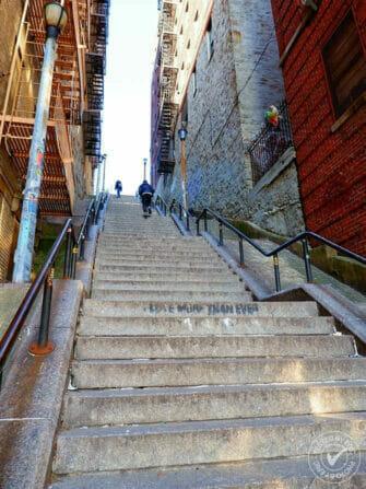 The Bronx Joker Stairs eric