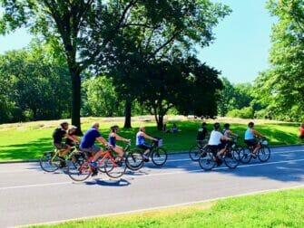 Eco friendly New York trip Biking in Central Park