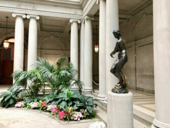 The Frick Collection in New York Statue