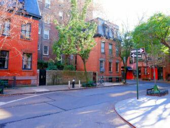 Greenwich Village in New York Street