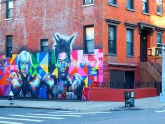 Williamsburg in Brooklyn Street Art