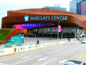 Brooklyn in New York Barclays Center