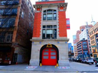 Filming Locations in New York Ghostbusters