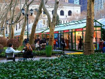 New York Holiday Markets - Bryant Park Market