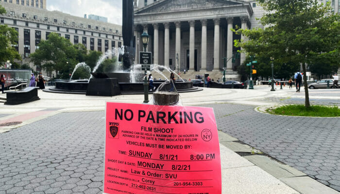 Filming Locations in New York - No Parking