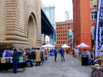 Flea Markets in New York - Dumbo Flea Market Brooklyn