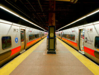 Metro North Railroad in New York - Track