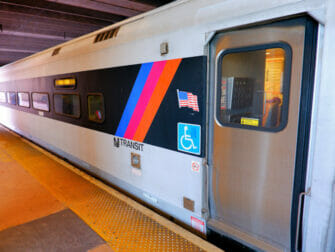 New Jersey Transit in New York - Train