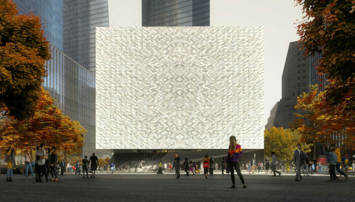 Performing Arts Center in New York – Outside