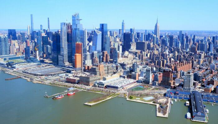 Manhattan in New York - Skyline