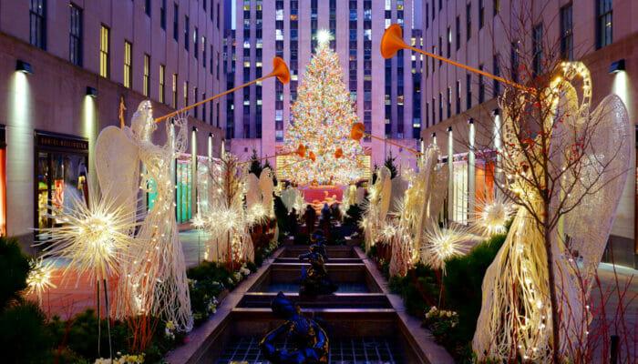 Rockefeller Center Christmas Tree Lighting Ceremony