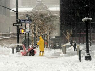 Snow in New York - Street